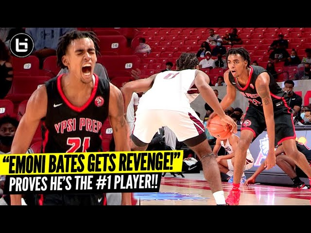 Emoni Bates Comes BACK To Texas & Gets REVENGE!! Best Player in The Nation at Holiday Hoopfest