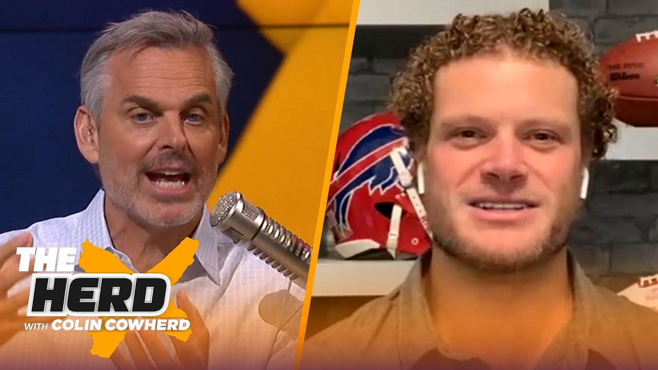 Eric Wood on how the Bills can slow down Lamar Jackson, Urban Meyer to Jaguars   NFL   THE HERD