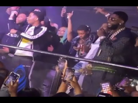 Gucci Mane Performs With Pooh Shiesty In Georgia