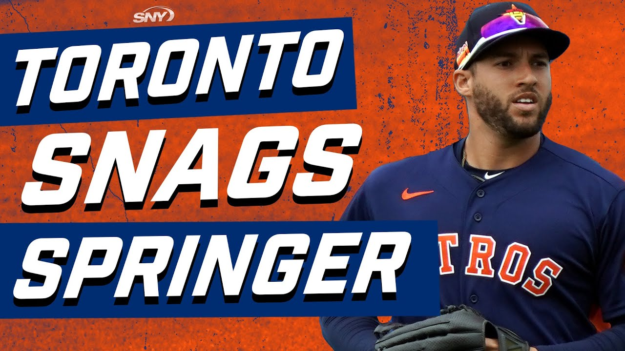 How big a deal is it that the Mets lost out on George Springer? | New York Mets | SNY