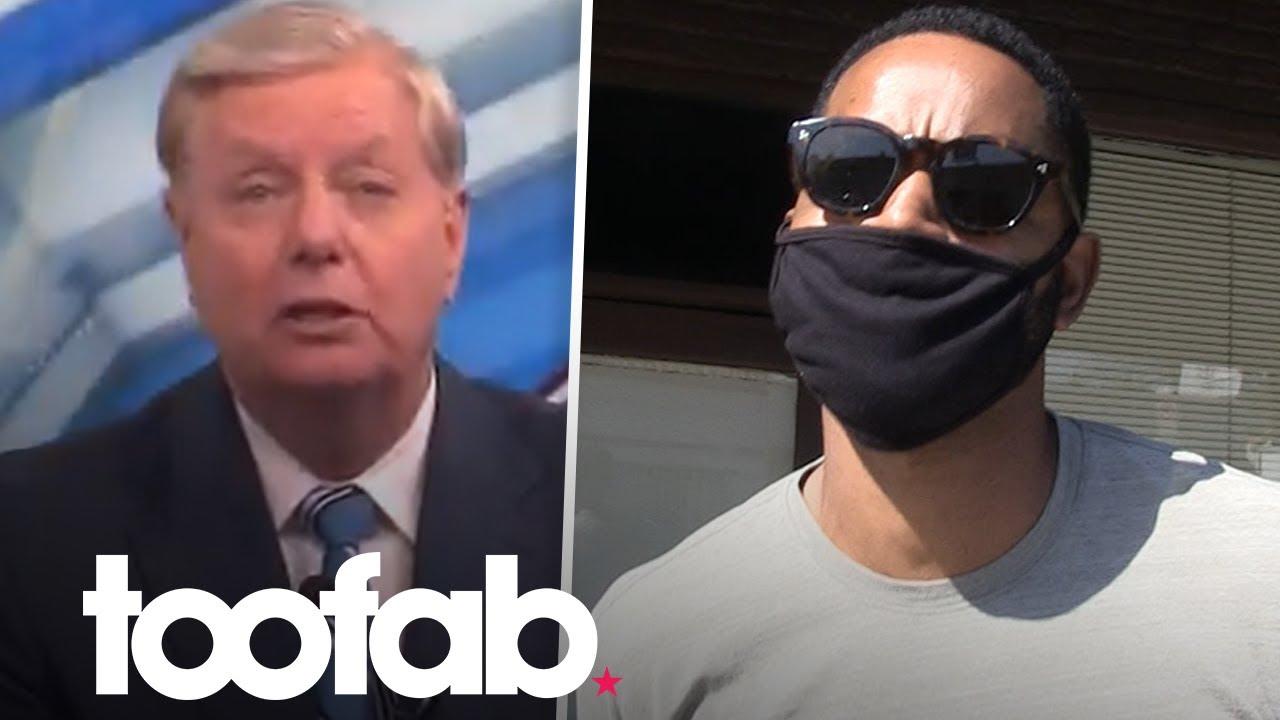 Jay Ellis Slams Lindsey Graham Over Black South Carolina Comments | toofab