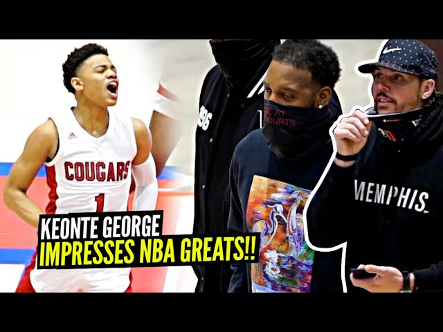 Keyonte George IMPRESSES NBA GREATS & Goes OFF For 32 Pts On ALL JUMPERS In Front of Tracy McGrady!