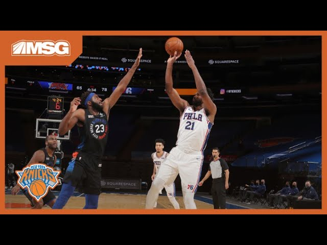 Knicks Collapse Again In 2nd Half, This Time To Sixers | New York Knicks