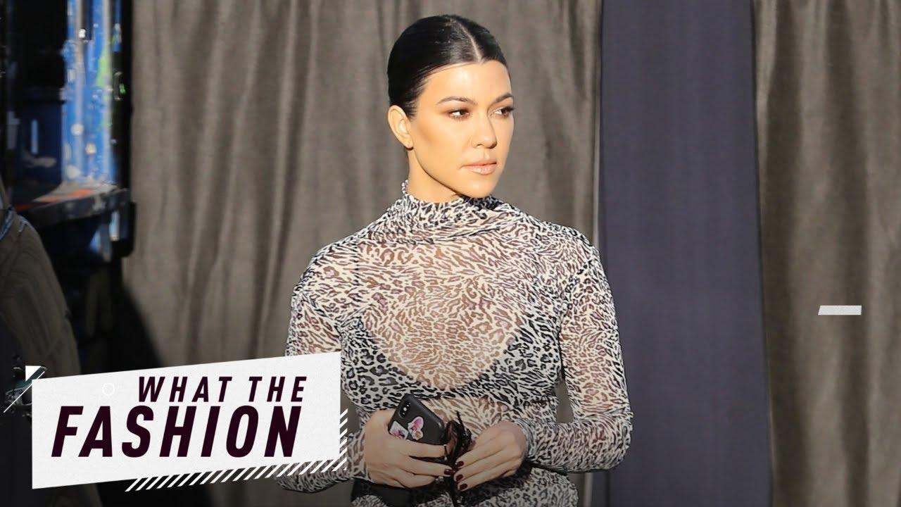 Kourtney Kardashian Is a Hot Mesh?!   What the Fashion   S2, Ep. 13   E! News