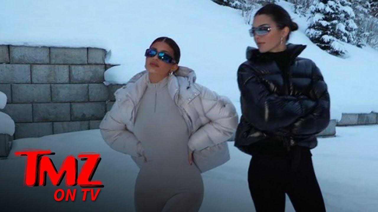 Kylie, Kendall & Kris Jenner's Aspen Rental Was A Winter Wonderland   TMZ TV