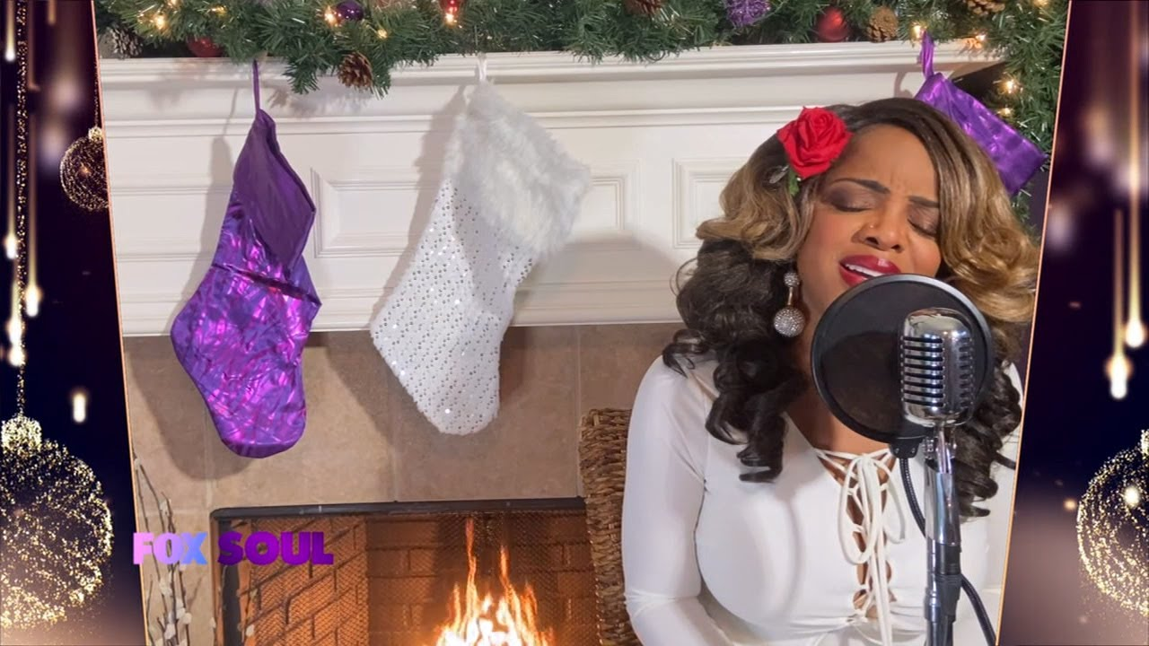 Leela James – 'Have Yourself a Merry Little Christmas'   FOX SOUL's Christmas Special