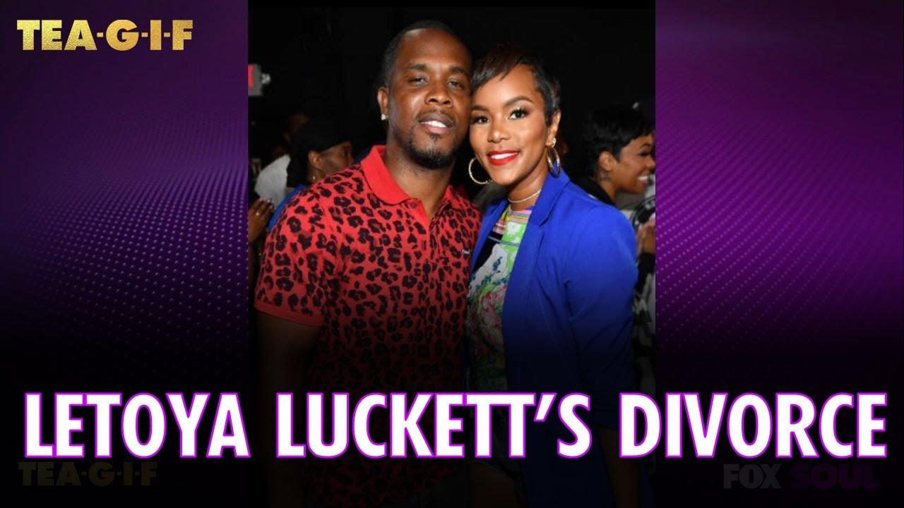 LeToya Luckett is Getting Divorced | Tea-G-I-F