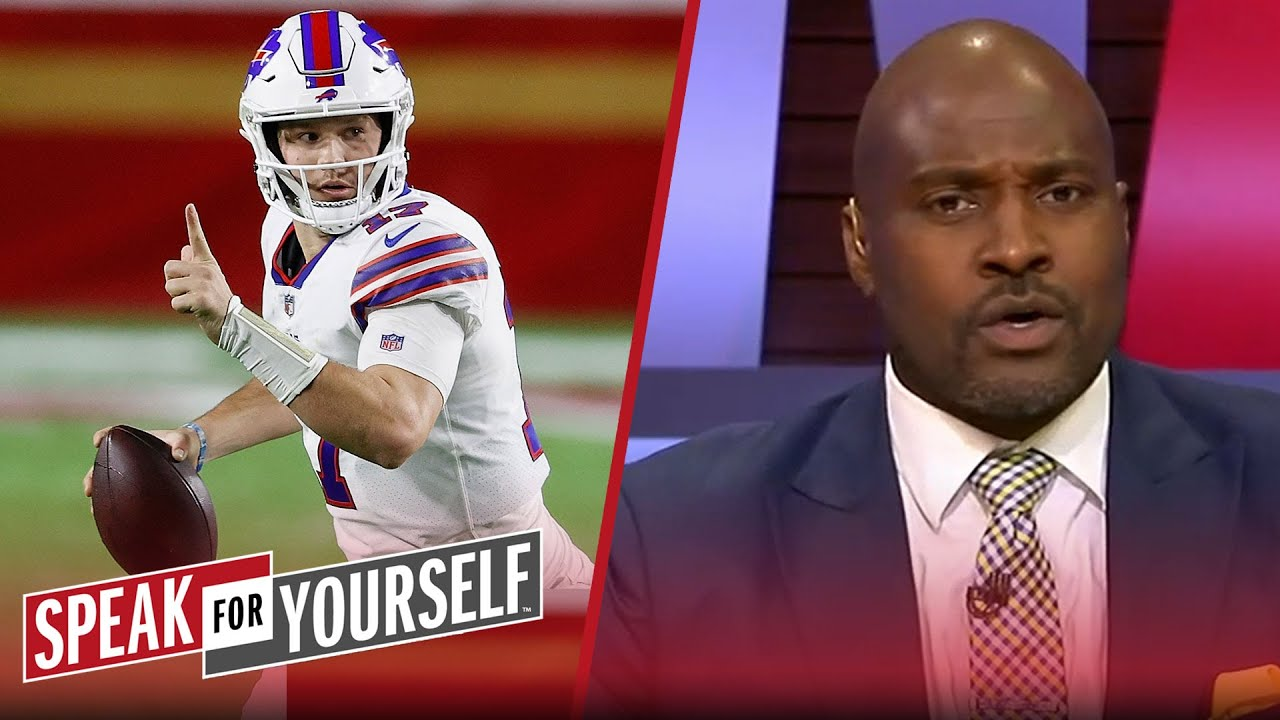 Marcellus Wiley makes the case for why Josh Allen is a Top-5 QB | NFL | SPEAK FOR YOURSELF