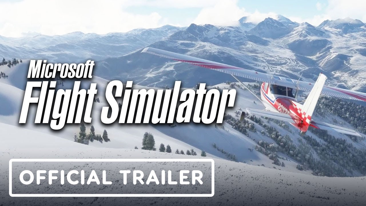 Microsoft Flight Simulator – Let It Snow Official Trailer