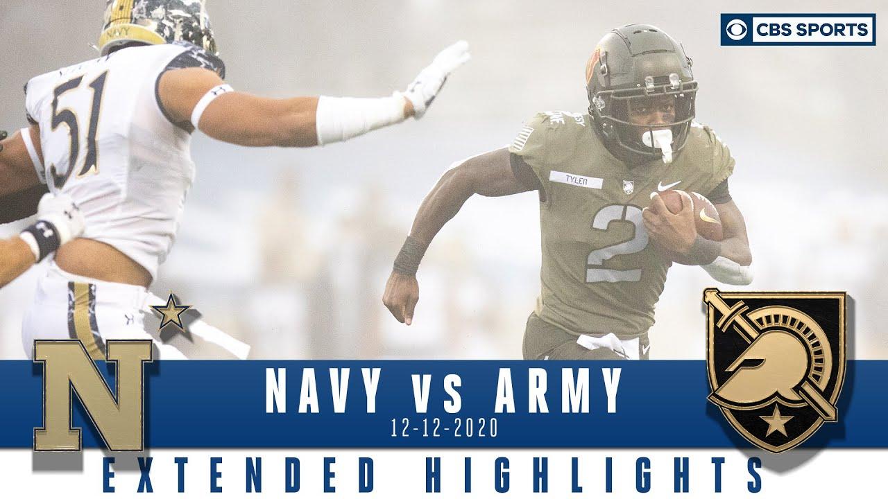 Navy Midshipmen vs. Army Black Knights: Extended Highlights | CBS Sports HQ