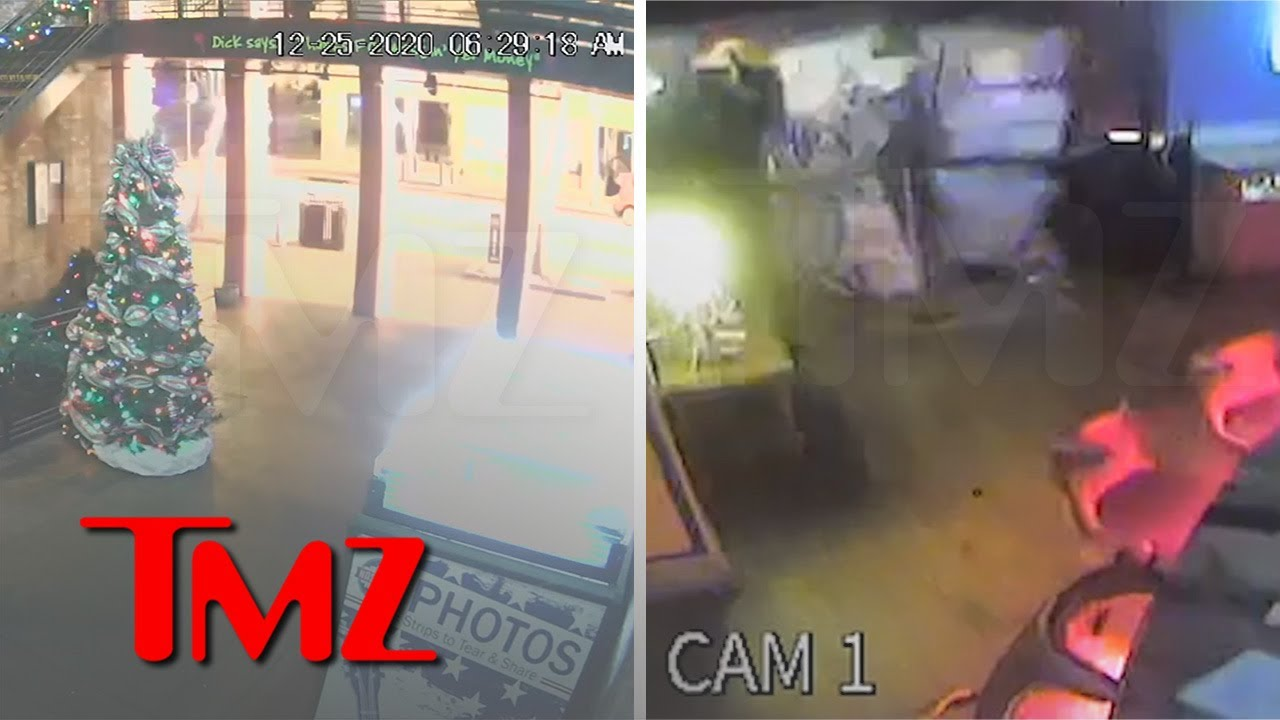 New Video of Nashville Explosion Impact from Neighboring Business | TMZ