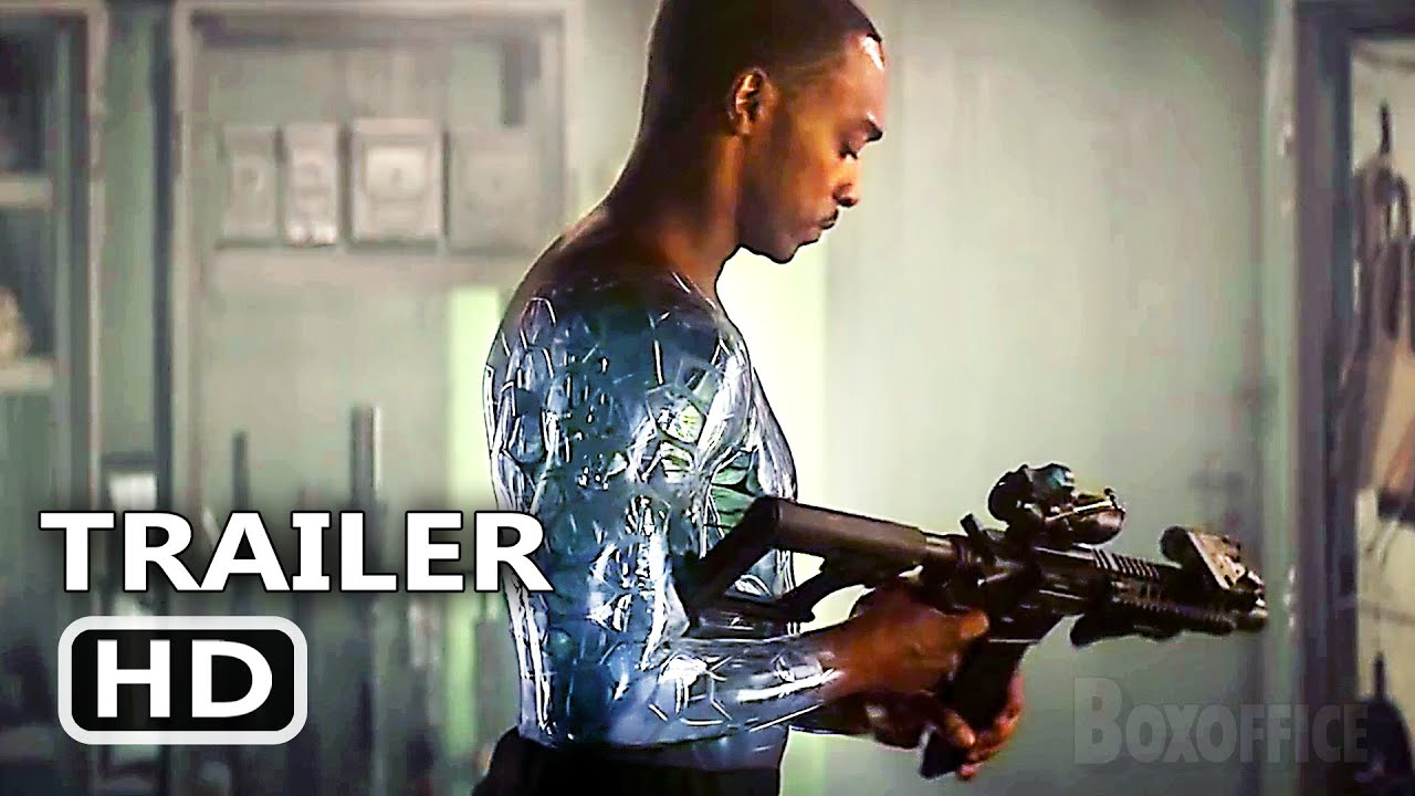 OUTSIDE THE WIRE Official Trailer (2021) Anthony Mackie Sci-Fi Movie HD