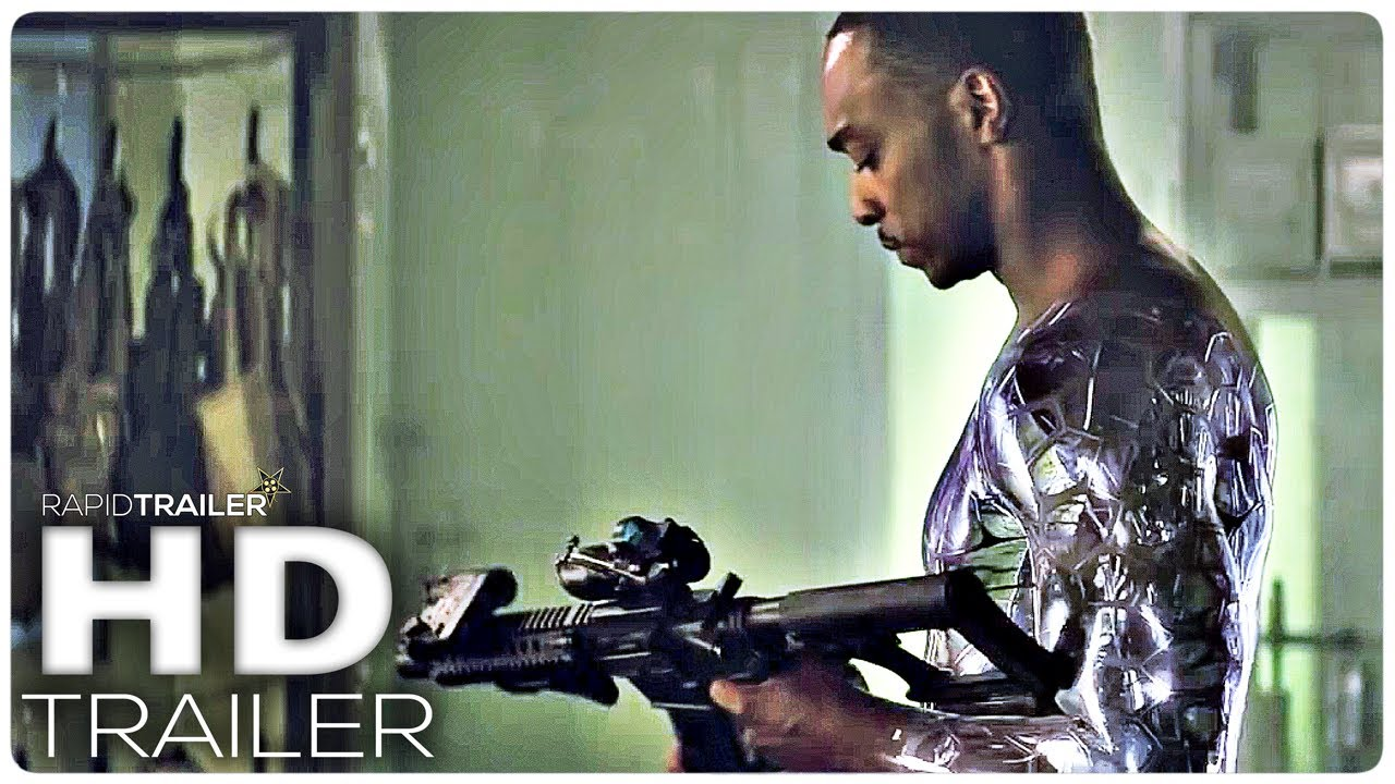 OUTSIDE THE WIRE Official Trailer (2021) Anthony Mackie, Sci-Fi Movie HD