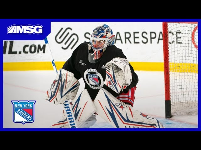 Quinn Confirms Shesterkin Will Be In Net For Opening Night | New York Rangers