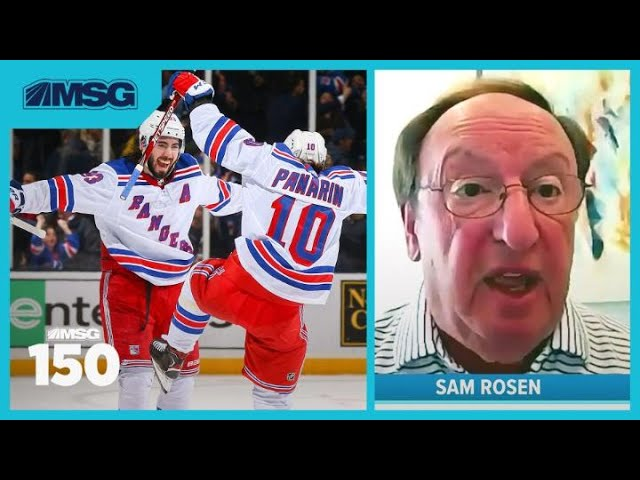 Sam Rosen Is Pumped To See What Rangers Can Do When NHL Resumes