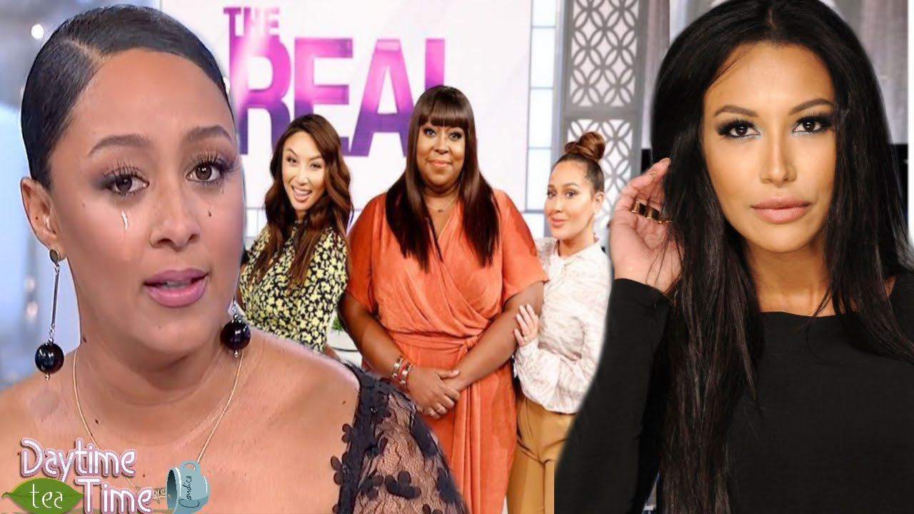 Tamera Mowry SPEAKS OUT about officially LEAVING The Real Daytime and gets EMOTIONAL about Naya!