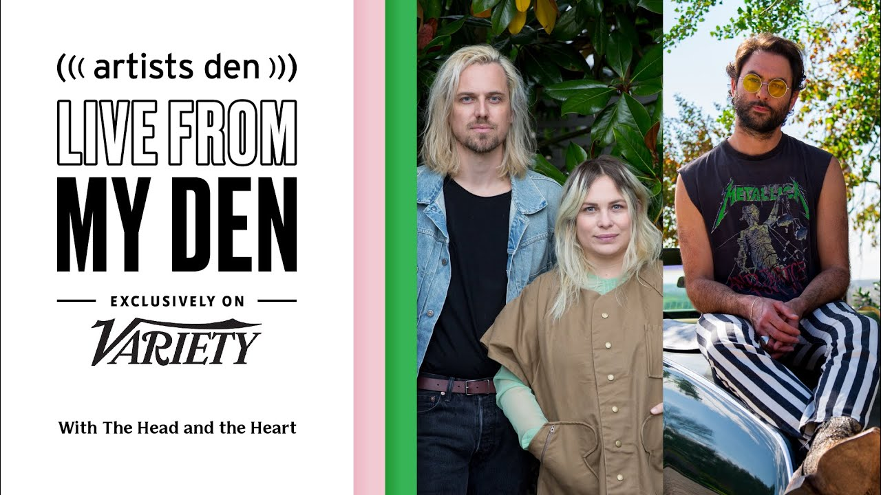 The Head and the Heart – Live from My Den