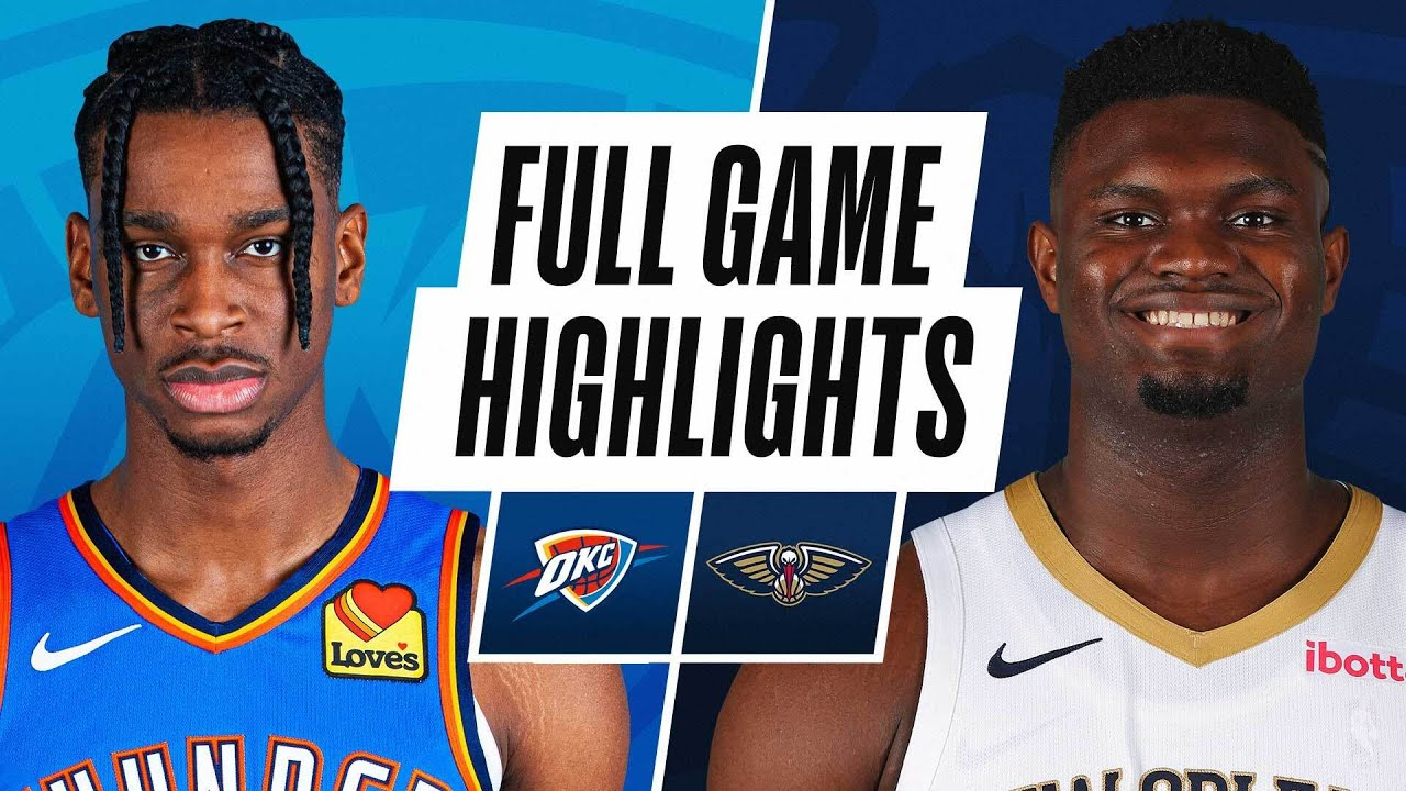 THUNDER at PELICANS | FULL GAME HIGHLIGHTS | January 6, 2021