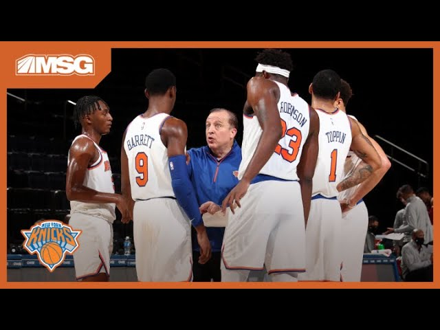 Tom Thibodeau Talks Coaching Style Ahead Of The Knicks Season Opener on Wednesday | New York Knicks