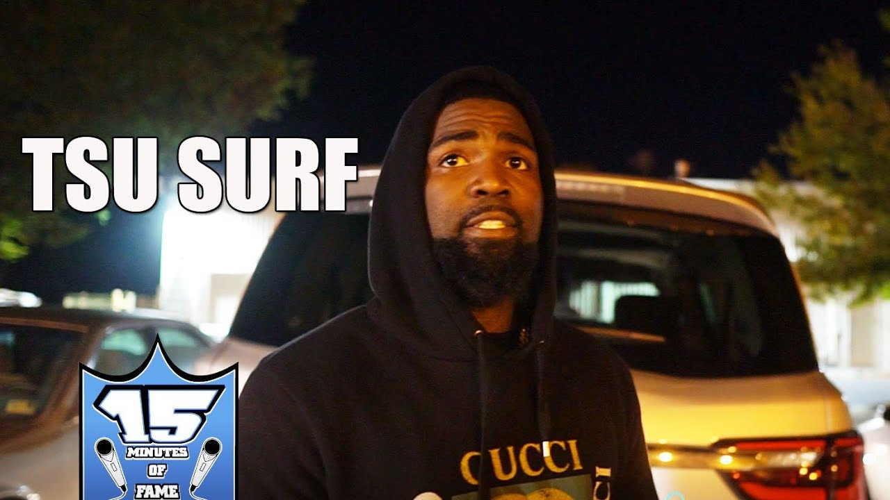 """TSU SURF """"40 BARRS WON THE VOTES BUT I GOT THE 1ST AND 2ND"""""""