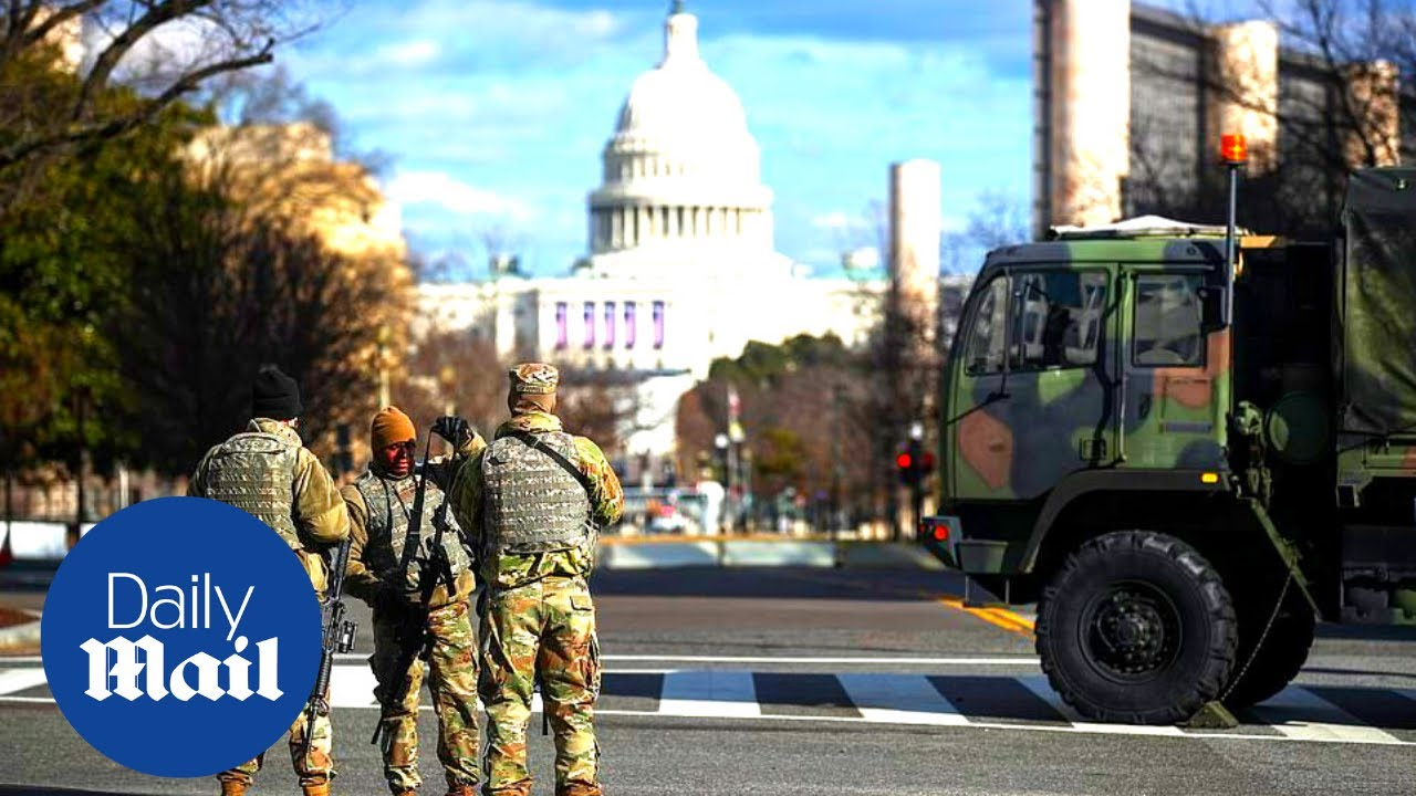 US Capitol: DC residents react to heightened security ahead of Biden's inauguration