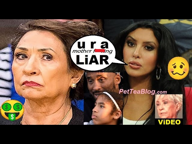Vanessa Bryant Mom Loses Mind, Suing her for $5 Million for watching her own Grandchildren! Kobe..