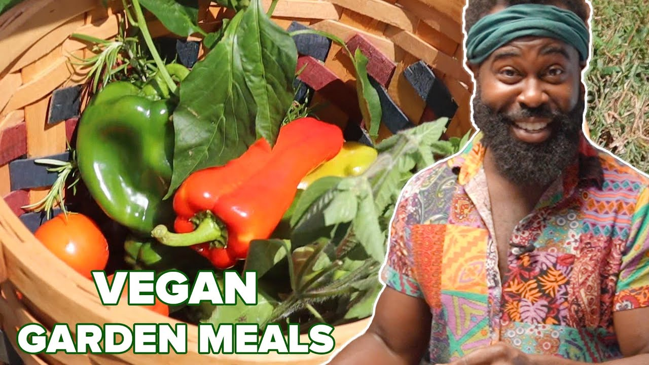 What A Vegan Eats In A Day From The Garden