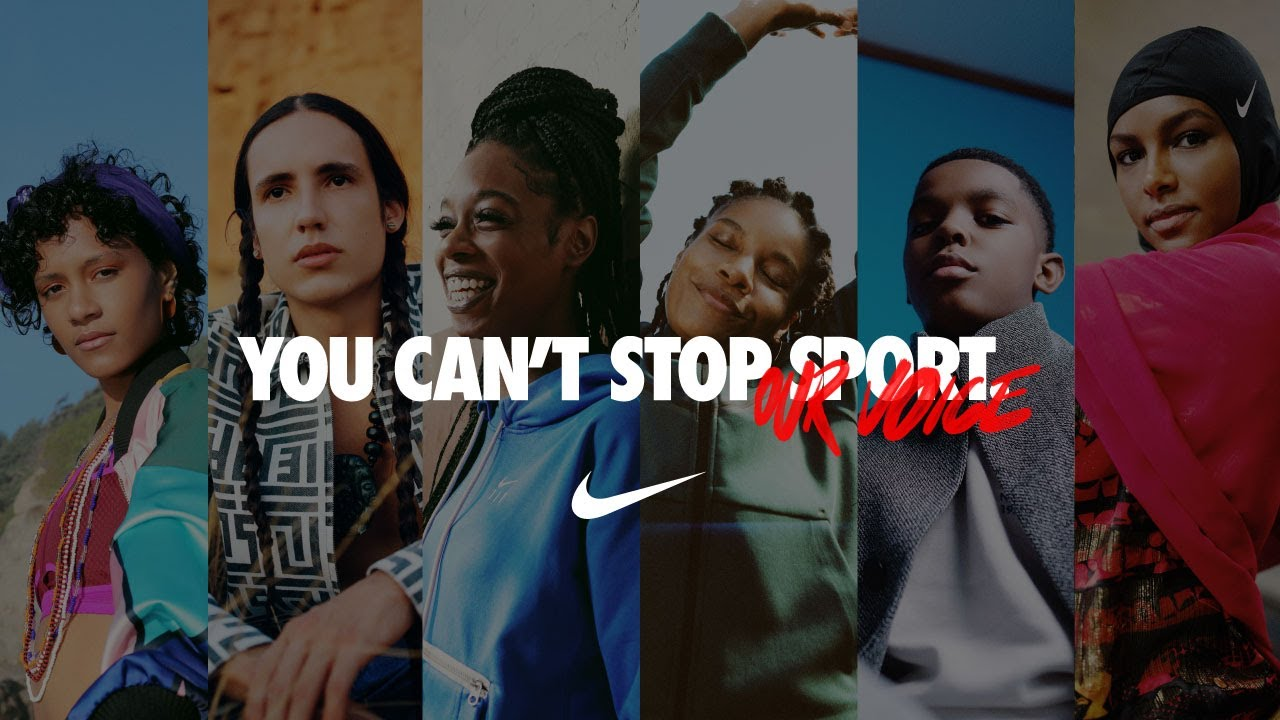 Witness The Power of Sport | You Can't Stop Our Voice | Nike