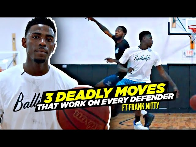 3 DEADLY Basketball Moves That Will Work Against ANY Defender! Ft. Drew League 3x MVP Frank Nitty