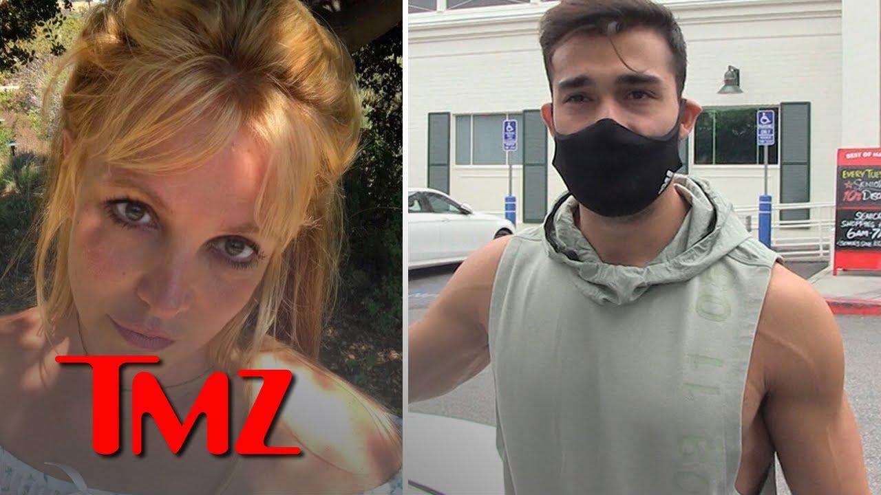 Britney Spears' Boyfriend Sam Asghari Calls Her Dad Jamie 'Total Dick' | TMZ