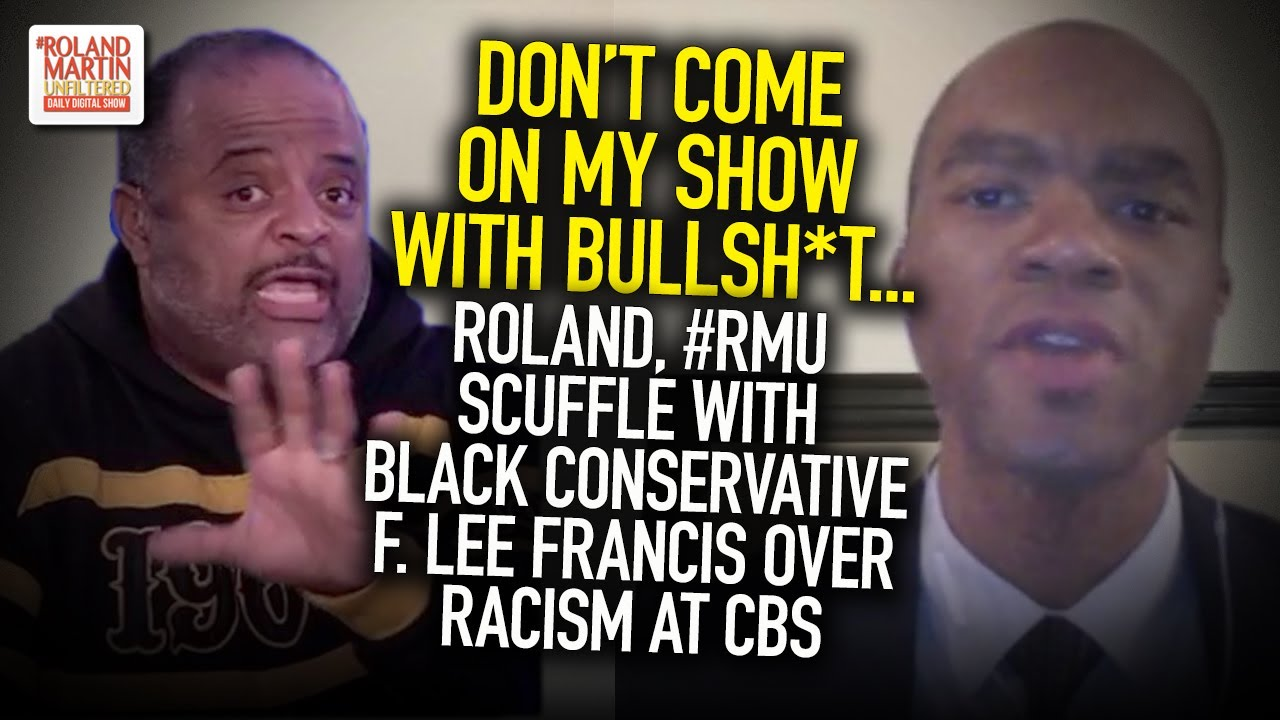 Bullsh*t! Roland, #RMU Scuffle With Black Conservative F. Lee Francis Over Racism At CBS