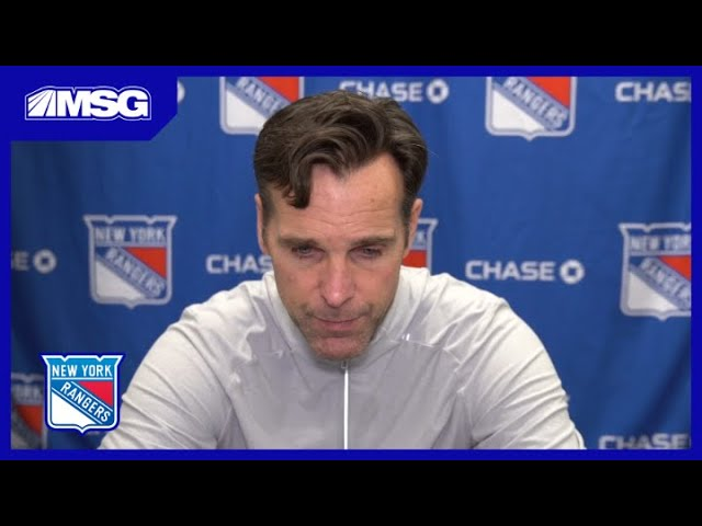 David Quinn Looks At Changing Up Lineup With Loss of Filip Chytil | New York Rangers