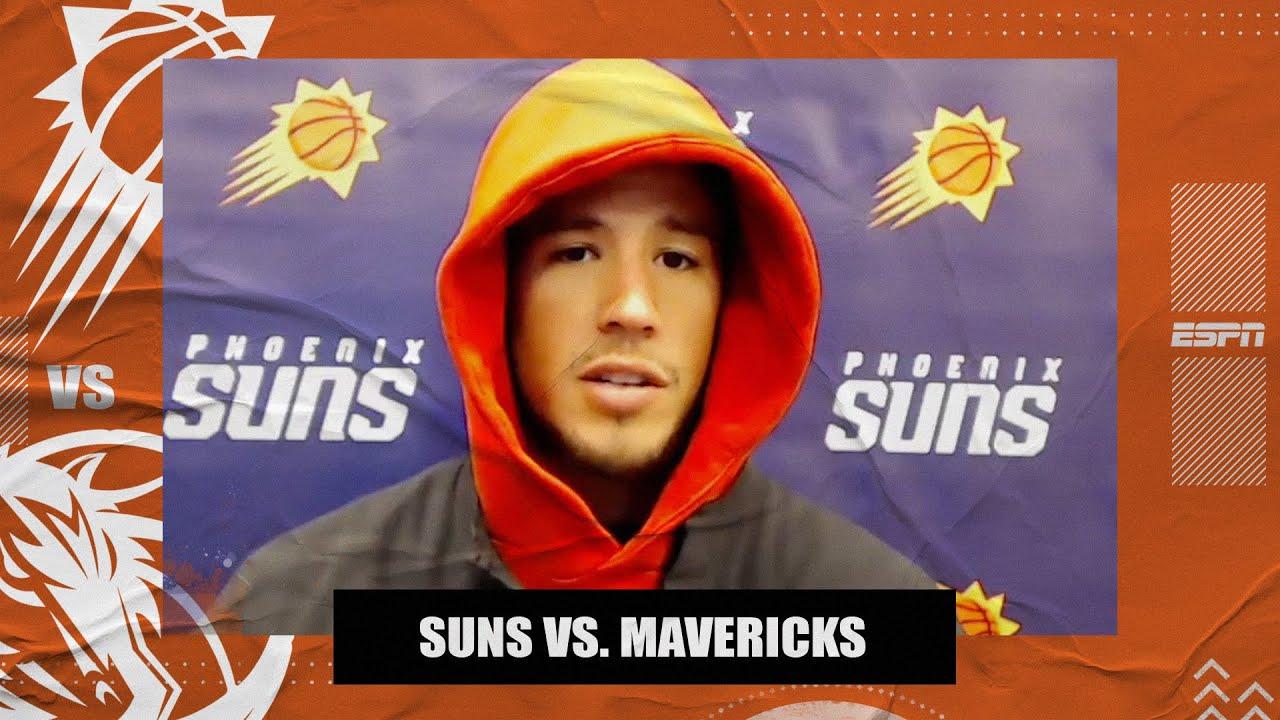 Devin Booker on hitting the game-winning shot vs. the Mavericks in return from injury   NBA on ESPN
