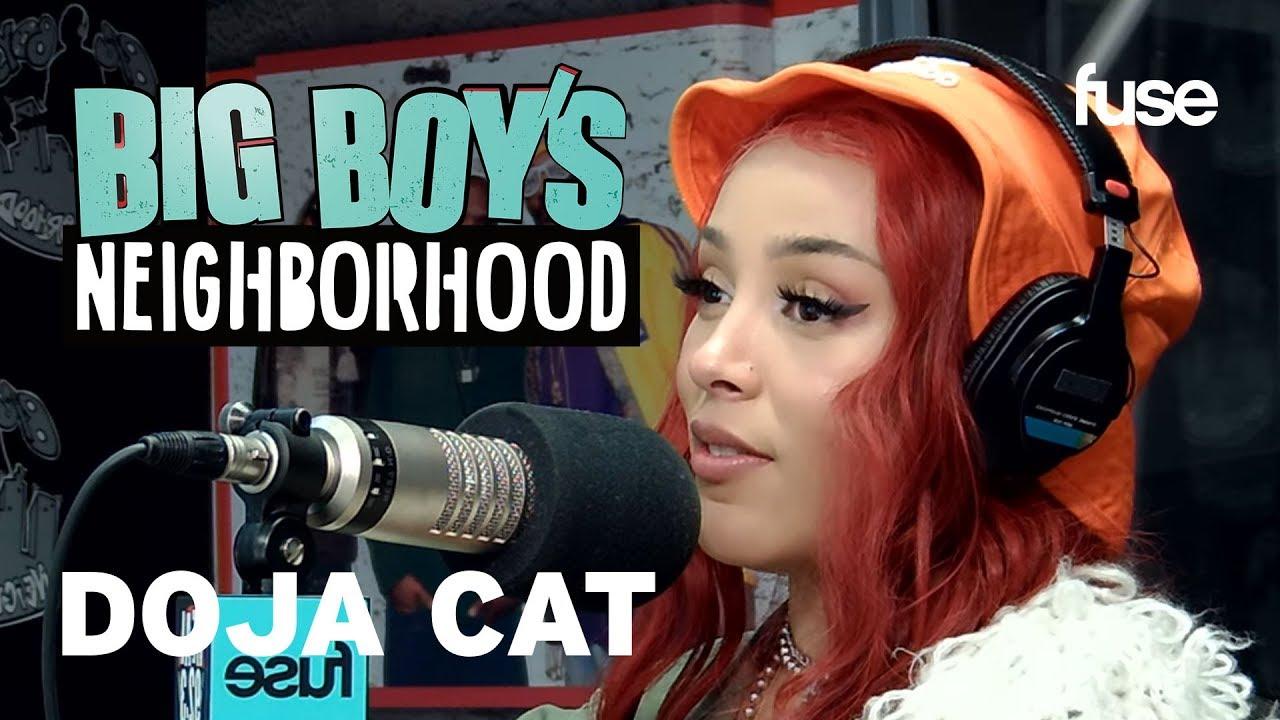 "Doja Cat Shares Her Top 5 Rappers & Talks ""Hot Pink"" | Big Boy x Fuse"