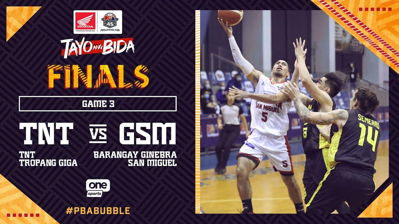 Full Game 3: TNT  vs Ginebra   PBA Philippine Cup 2020 Finals