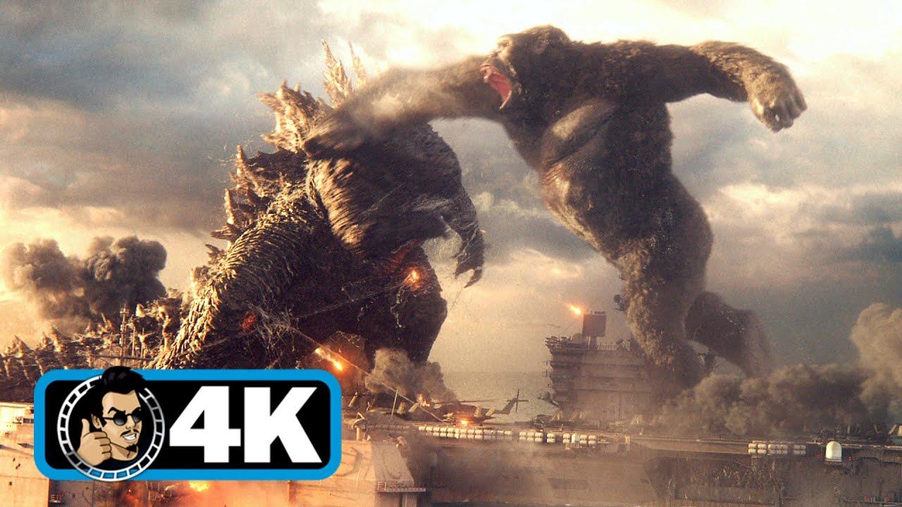 GODZILLA VS KONG Trailer   4K ULTRA HD (2021)