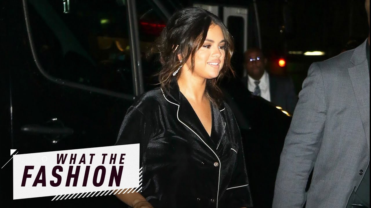 Is Selena Gomez's PJ Style Classy or Trashy? | What the Fashion | S2, Ep. 10 | E! News