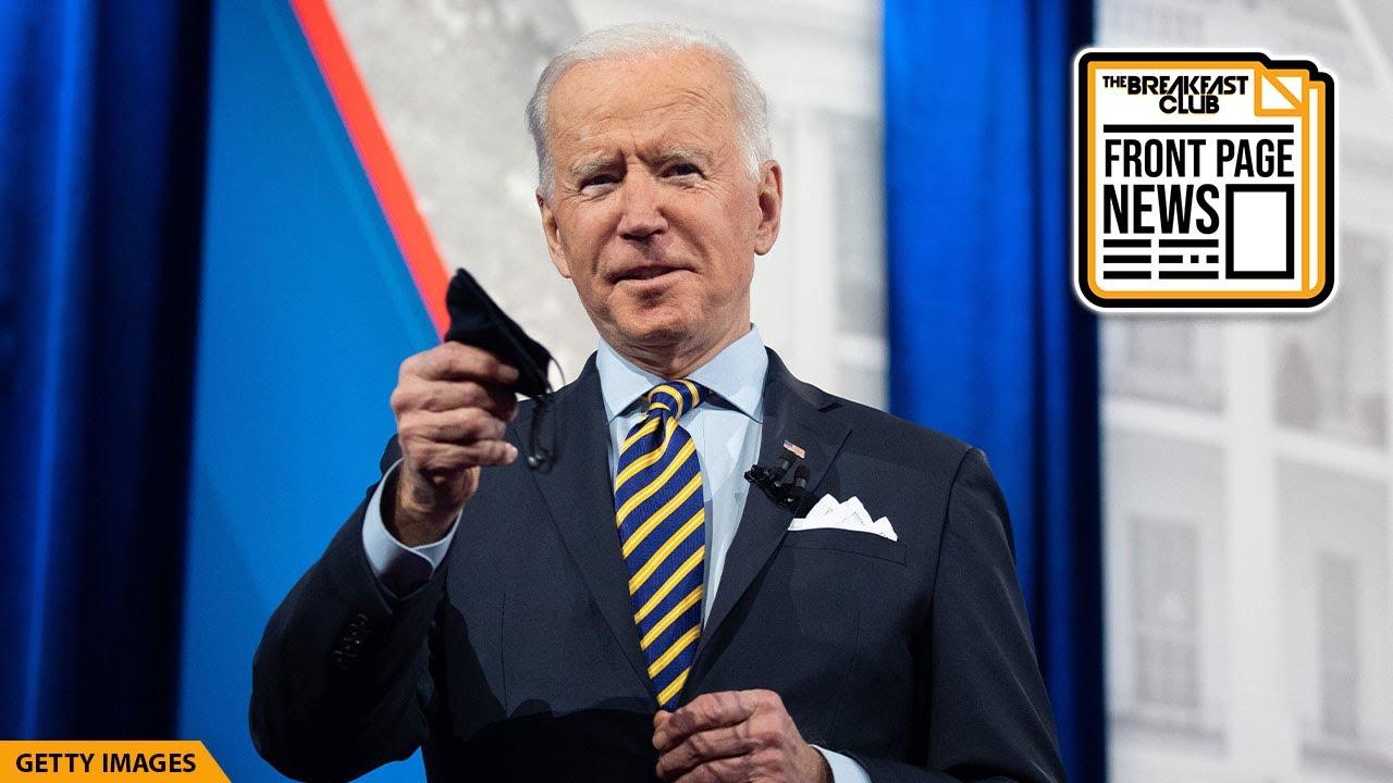 Joe Biden Addresses Minimum Wage, Covid Vaccine & Student Load Debt At Town Hall Event