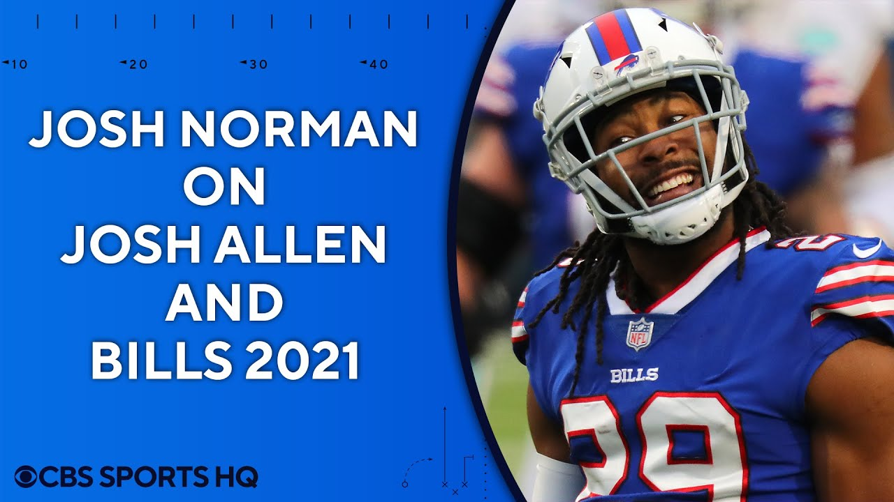 """Josh Norman on Josh Allen: """"You can see his growth"""" 