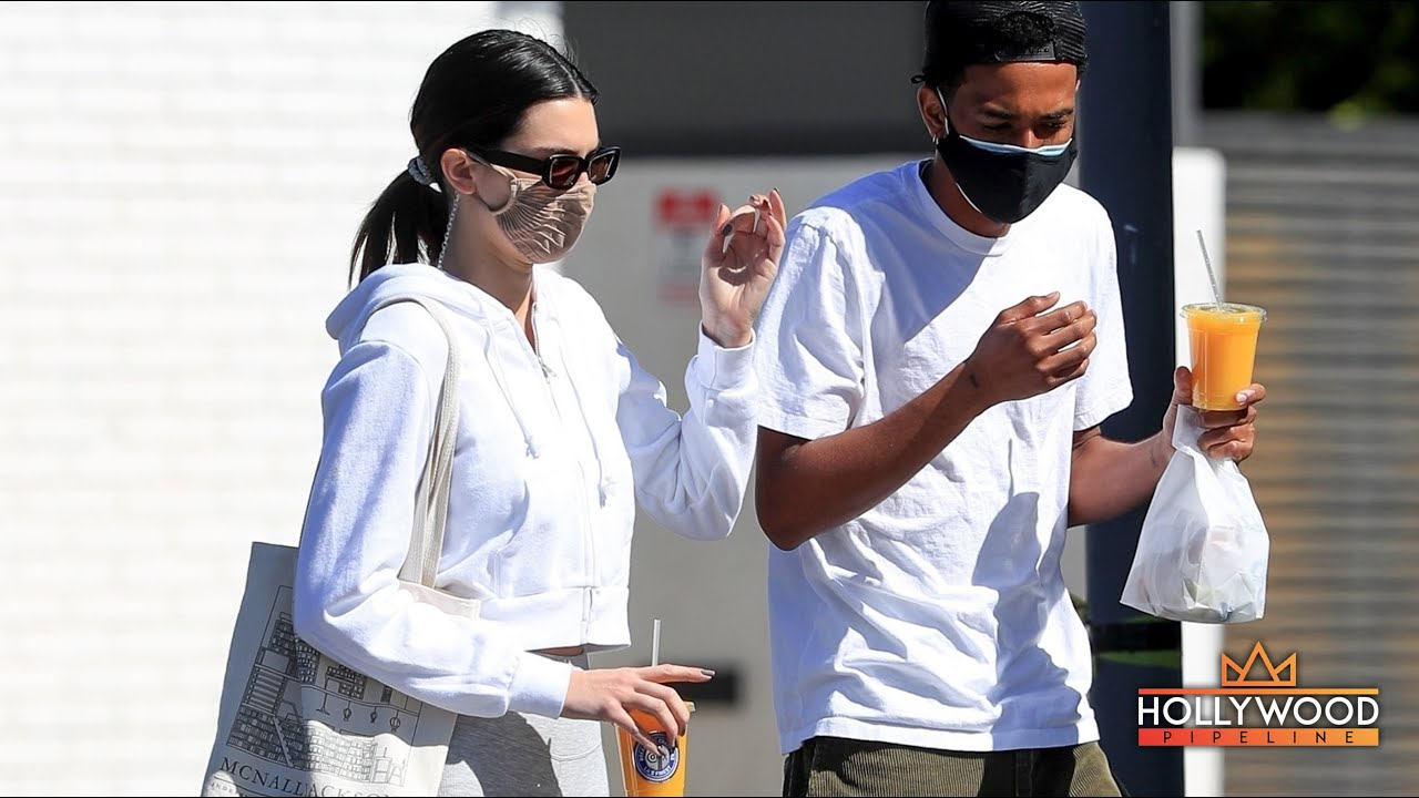 Kendall Jenner Grabs Juice with Friend as Kim Kardashian Files for Divorce from Kanye West