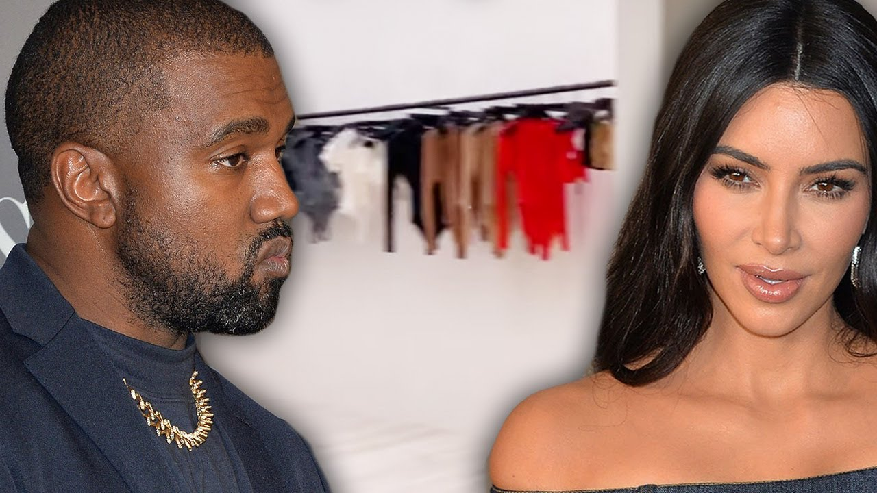 Kim Kardashian Removes Kanye's Yeezy Collection Out Their Home?