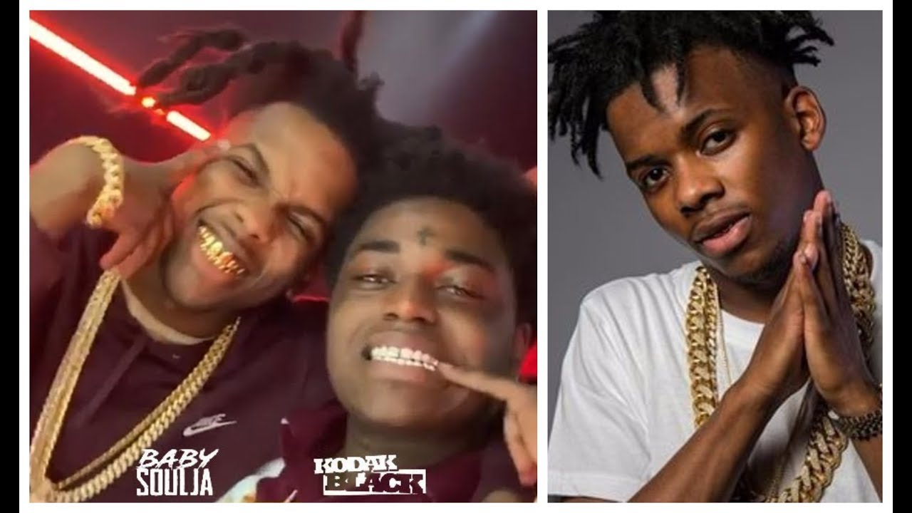Kodak Black Homeboy Baby Soulja Kicks His GF & THE BABY Out On Live After She Got Caught Cheating
