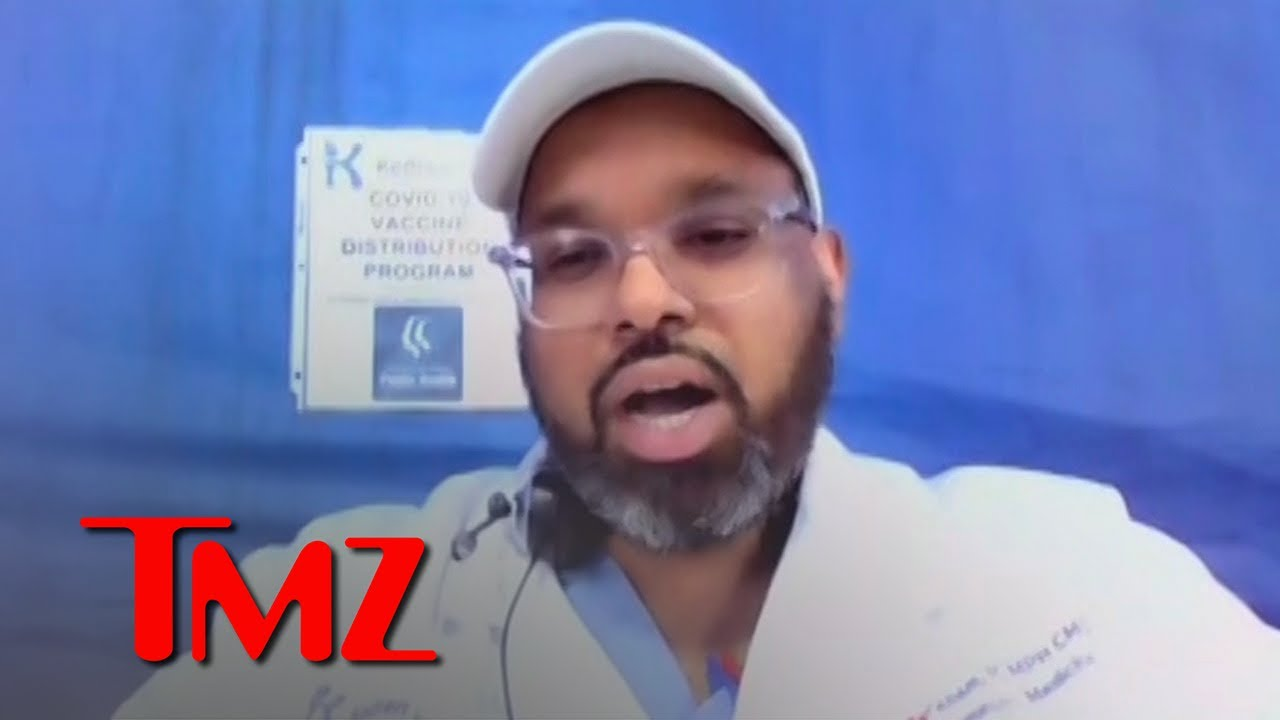 L.A. Doctor Creates Model Vaccine Roll Out to Black & Brown Residents | TMZ