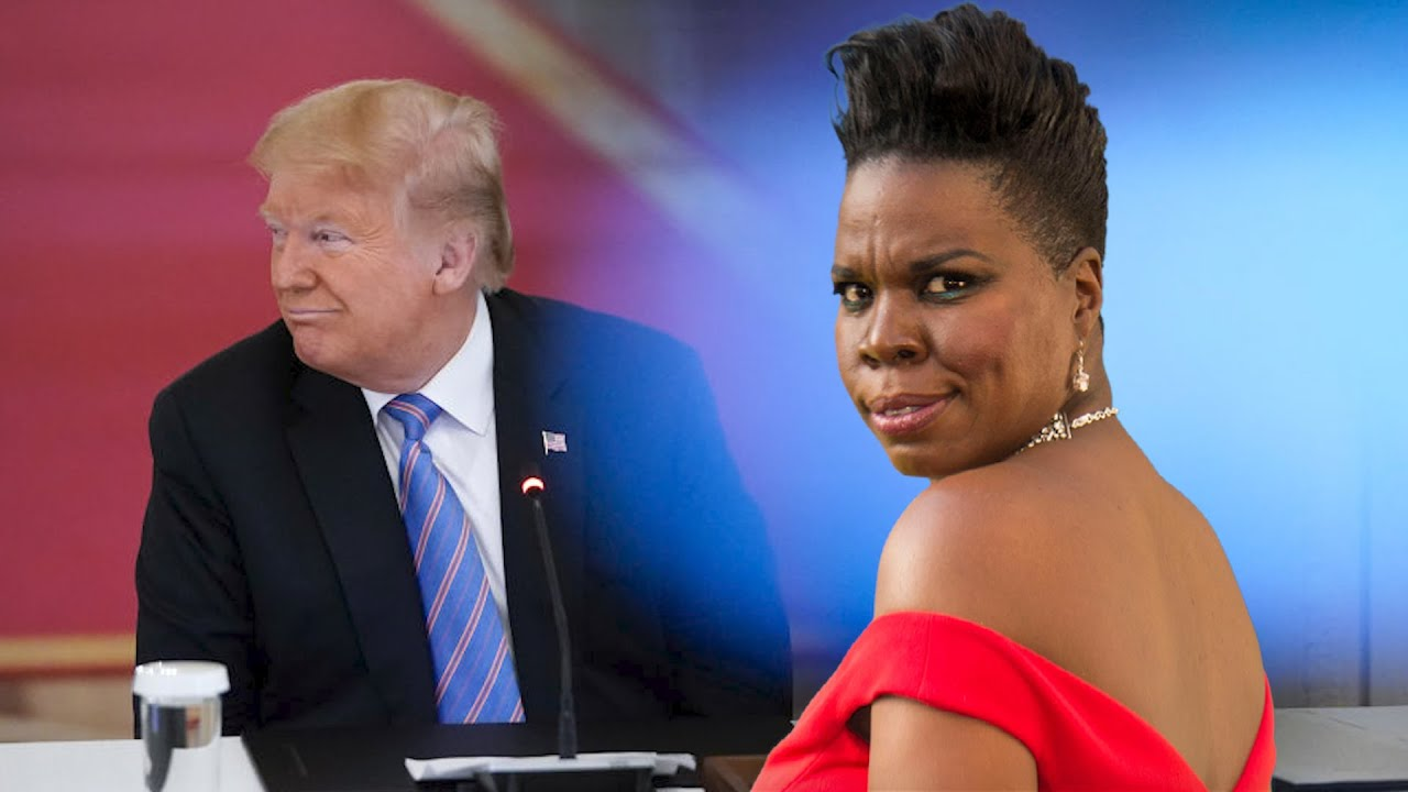 Leslie Jones Lets Trump Have It In F-bomb Rant!
