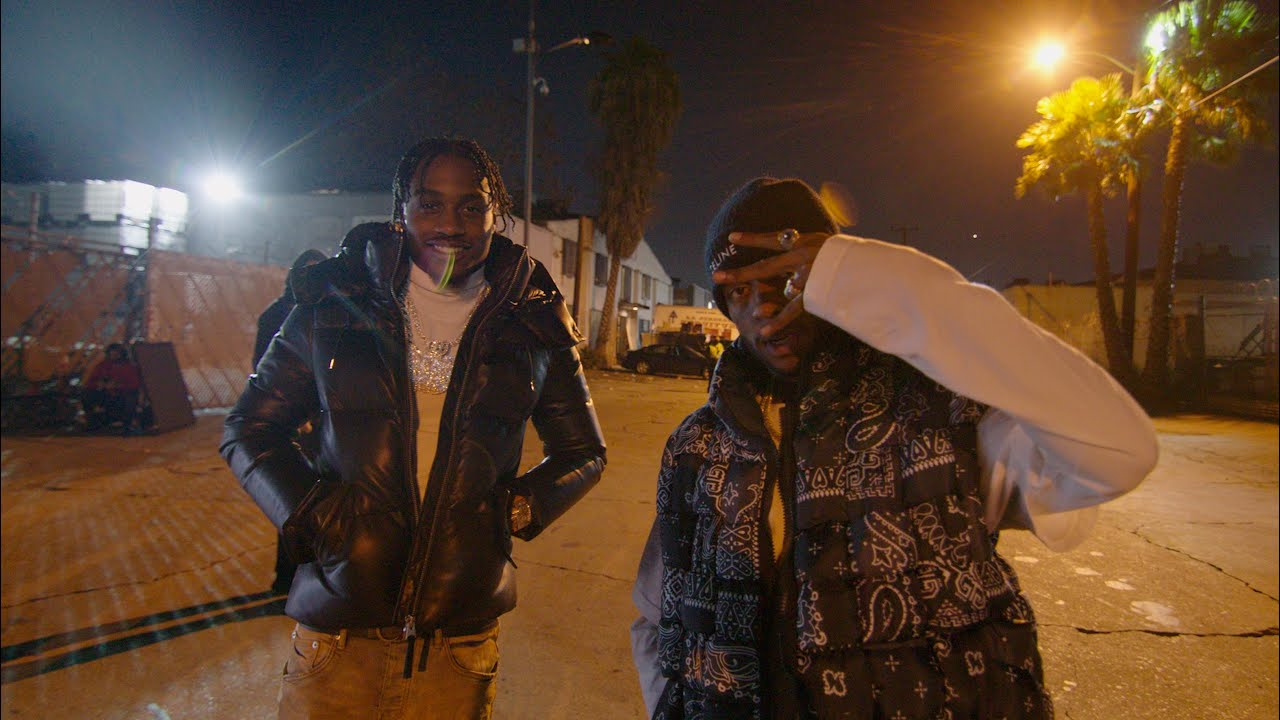 Lil Tjay & 6LACK – Calling My Phone (BTS)