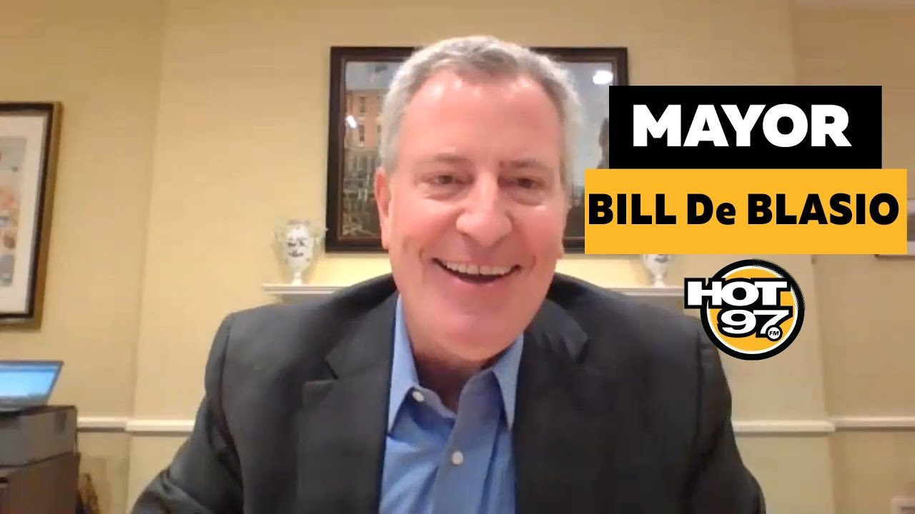 Mayor Bill De Blasio on COVID-19 Response, NYC PBA Trump Endorsement, Outdoor Dining, & Crime