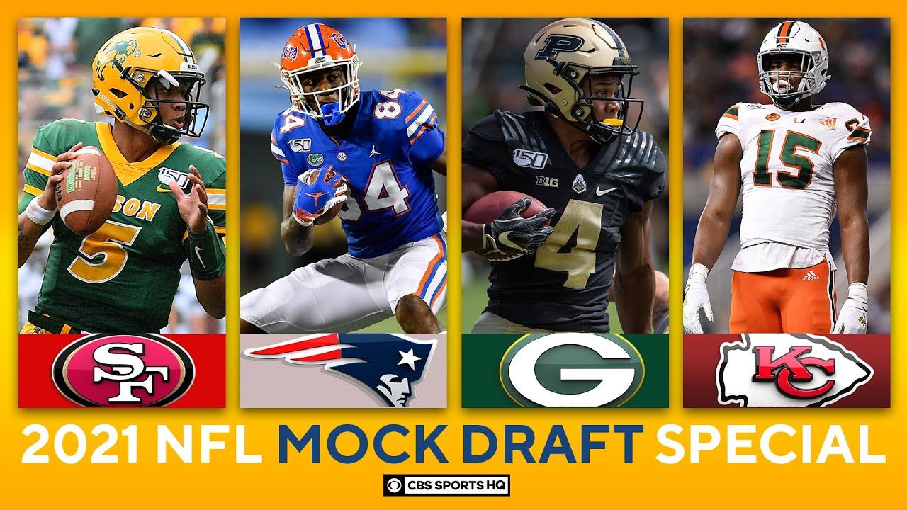 NFL Mock Draft Picks 10-32: 49ers get QB, Pats take stud TE, Chiefs get Edge help | CBS Sports HQ