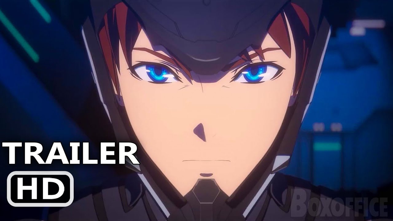 PACIFIC RIM The Black Official Trailer (2021) Animation, Netflix HD