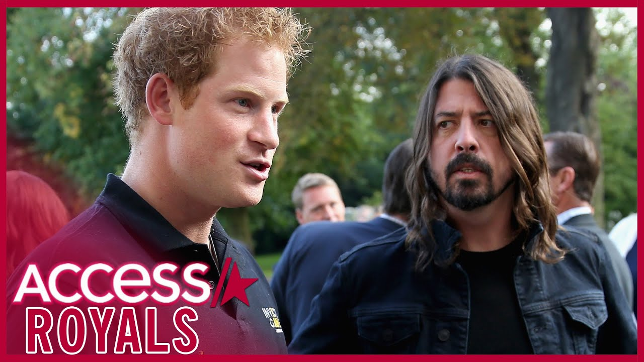 Prince Harry Once Visited Dave Grohl In The Hospital