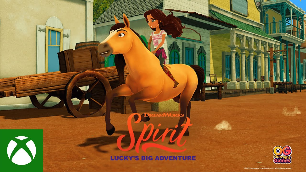 Spirit Lucky's Big Adventure – Announce Trailer